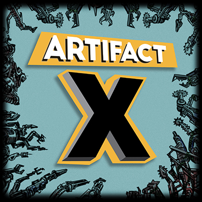 Artifact X: My New Audiobook Podcast